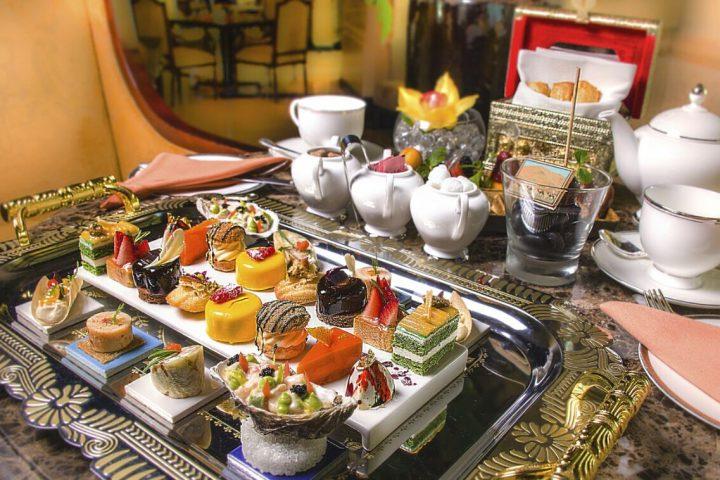 Afternoon Tea at Shangri La