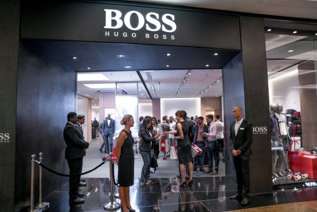 Hugo Boss Dubai Store Luxe Diary