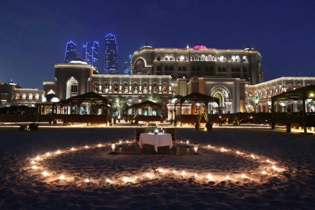 BBQ Al Qasr - Romantic Set Up