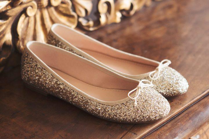 House of Ballerinas Celestine Gold & Silver glitter