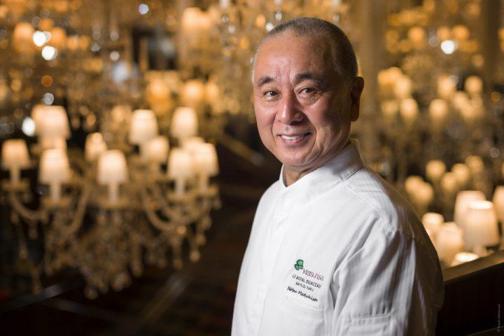 Le Royal Monceau Raffles Paris - Chef Nobu Matsuhisa ©Romeo Balancourt